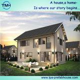 Дом виллы набора стальной структуры Prefab для семьи