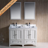 連邦機関1069e 48インチの安い二重流しの水晶上の現代浴室用キャビネット
