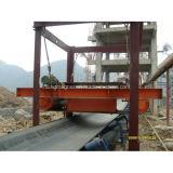 Separador magnético de la banda transportadora para manejar los hierros del cemento