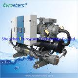 Pompe à chaleur refroidie à l'eau de source d'eau d'utilisation centrale de climatiseur de rendement élevé