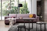 Base di sofà d'angolo del tessuto