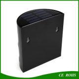 Retro Courtyard Solar Power 6 LED Outdoor Wall Garden Light Economia de energia Solar Yard Lamp for Path