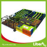 2016 o Design o mais novo Liben Trampoline Park com Ninja Course
