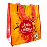 Le sac d'emballage en plastique réutilisable pour des achats, avec conçoivent en fonction du client (14090502)