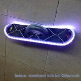 빛 Bluetooth를 가진 Monowheel 전기 각자 균형을 잡는 스케이트보드