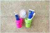 Badezimmer-an der Wand befestigter Absaugung-Cup-Zahnbürste-Halter