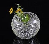 Décoration grande de maison de vase à vase en verre clair en gros