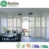 Kundengerechter weißer Plantage PVC-Fenster-Blendenverschluß
