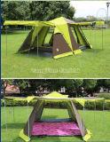 Quatre ouvrent la tente de porte, tente campante bon marché