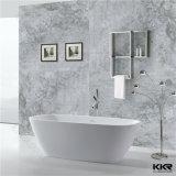 Festes Oberflächenbadezimmer freistehende Corian Badewanne