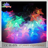 Акриловые декоративные света шнура украшения рождества мотива СИД