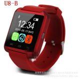 SIMのOEM Bluetoothデジタルのスマートな腕時計およびアンドロイドおよびIosのためのカメラ