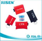 Heißer Verkauf Mini-CPR-Schablone Keychain One-wayventil
