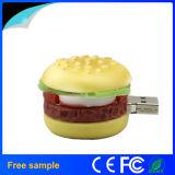 도매 승진 음식 Hamberger 모양 PVC Pendrive 2GB