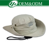 Sombrero de encargo del cubo del algodón del camuflaje del OEM
