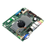 Intel湾の道のJ1900 CPU DDR3lの内蔵2GB RAM 32GB SSDを搭載する小型企業のマザーボードFanlessのゲートウェイMainboard