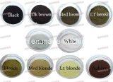 Obscuridade natural das fibras 25g Brown do edifício do algodão 10 produtos disponíveis da fibra do engrossamento do cabelo das cores