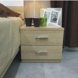 Buon legno di quercia di prezzi della Cina Nightstand per l'insieme di camera da letto (WW-004)