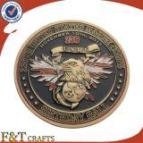 Het mariene Metaal van de Replica van de Adelaar van Amerika van Herinneringen Oude Gouden ons het Muntstuk van de Marine