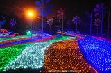 Licht van Kerstmis van het Gordijn van de LEIDENE het Waterdichte Decoratie van het Koord Lichte