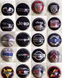 carro das peças de automóvel das etiquetas do JP dos tampões de cubo do centro de roda do carro de 56mm que denomina o decalque e a etiqueta