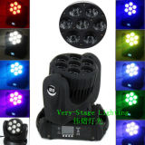 LED 7PCS 12W Osram 4 in 1 Beam Moving Head Light