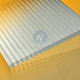Polycarbonate Glittery Sheet Gemellare-Wall con Protection UV