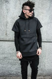 Изготовленный на заказ High Fashion Mens Neoprene Jacket с Hood (ELTHSJ-881)