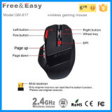Nachfüllbares High Dpi 7D LED Light Wireless Computer Gaming Mouse
