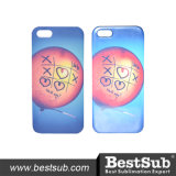 Tampa Printable do telefone do Sublimation 3D lustroso de Bestsub para o iPhone 5/5s/Secover (IP5D01G)