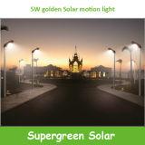2016新しいデザインLEDの動きセンサーが付いている太陽庭ライト