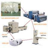 Cadena de producción automática del papel de tejido de la pequeña empresa