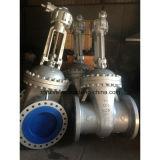 válvula de porta grande da extremidade da flange do tamanho do aço de molde 150lb/300lb/600lb