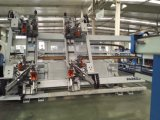 CNC 높이 능률적인 수직 4 코너 PVC Windows 문 용접 기계