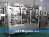 Linha automática de máquinas de enchimento de bebidas carbonatadas CSD