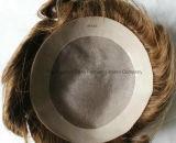 """"""" Toupee Mano-Legato del rimontaggio dei capelli 14 per gli uomini/donne"""