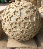 Altavoz del audio de Polyresin de la escultura de la bola de la piedra arenisca