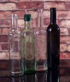 De Flessen van het Glas van de Olijfolie van het Ontwerp van de douane