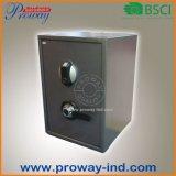 Caja fuerte biométrica de la cabina de la huella digital para el hogar