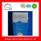 Matériel imprimable de carte d'identification de plastique de jet d'encre blanc