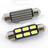 Indicatore luminoso T10 dell'automobile delle lampadine T10 6SMD 5630 LED di SMD LED