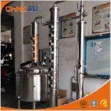 Equipo de la destilación del licor