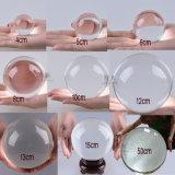 шарик сферы 100mm ясный кристаллический для украшения домашнего офиса