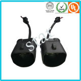 9004/9005/9007 impermeable Moldeo Luz conector del arnés del alambre con el tubo de PVC