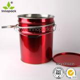 Catégorie comestible position peinte par coutume ronde de bidon de position d'eau en métal de 5 gallons