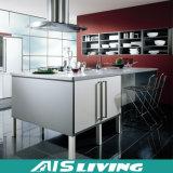 Gabinete de indicador clássico da mobília dos gabinetes de cozinha do estilo (AIS-K283)