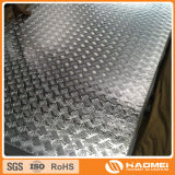 piatto di alluminio antiscorrimento con il reticolo del diamante