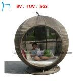 庭の家具のSGS/TUV/BVによってテストされる藤Apple Sunbed