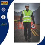 De Politie van het vervoer 100% Hoog Vest van de Veiligheid van het Zicht Weerspiegelend