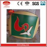 전시 (Jh124)를 광고하는 광고 널 외부 벽 위원회 알루미늄 표시